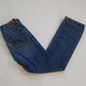 Levi's 514 men's blue denim jeans size 27x29